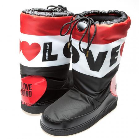 new styles 2d6c8 2d728 Moschino Love stivali per la neve