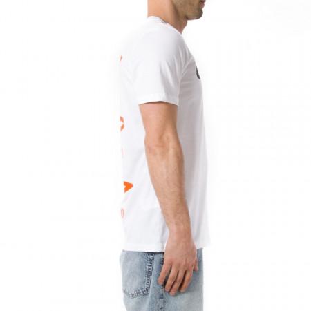 Umbro t shirt sportiva uomo bianca con logo