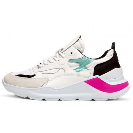 date-sneakers-fuga-nylon-white-mint