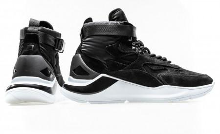 Date sneakers running fuga high black