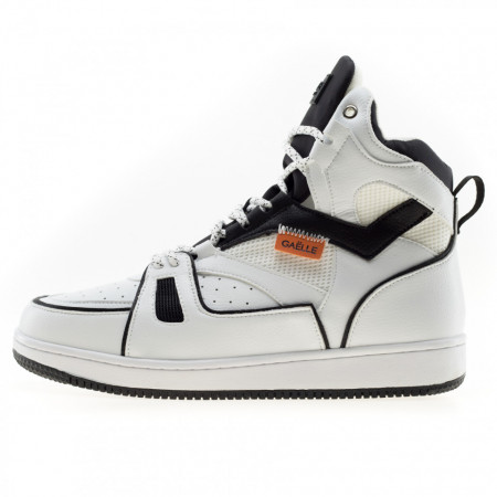 Gaelle-sneakers-basket-uomo-bianche