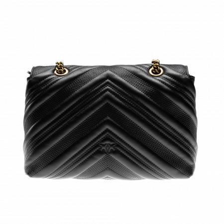 pinko-bag-black-gold