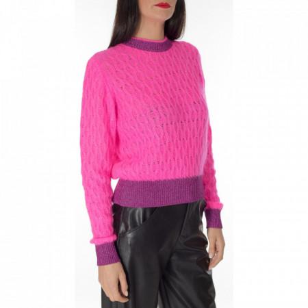 pinko-maglione-corto-fuxia