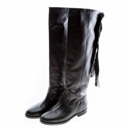 stivali-donna-in-pelle-nero-invernale