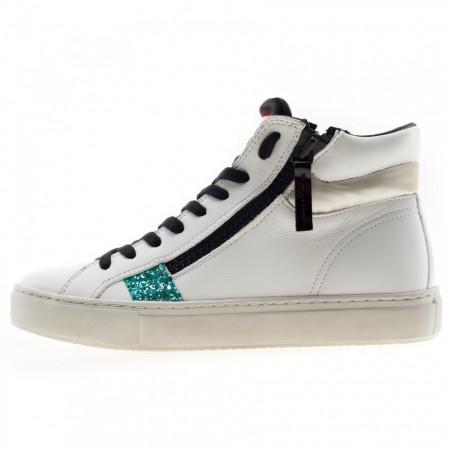 Crime-London-sneakers-alte-doppia-zip-bianche