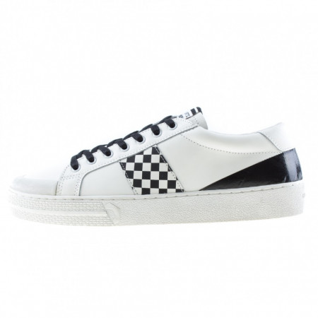 Moa sneakers basse uomo bianche