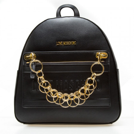 Moschino Love zaino in pelle mini