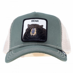 Goorin bros cappello visiera trucker orso