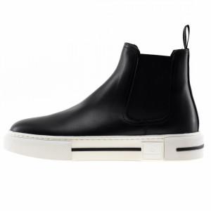 Brimarts black beatles ankle boots