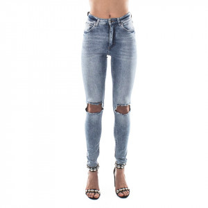 Cheap Monday high skin jeans slim vita alta