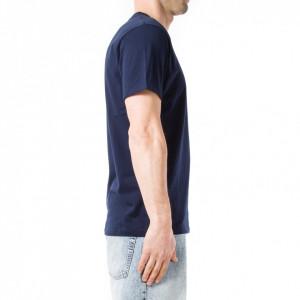 Commune-de-paris-t-shirt-uomo-blu