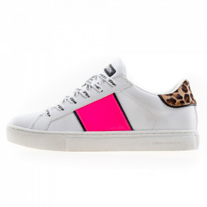 Crime London sneakers basse bianche donna