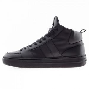 Crime London sneakers uomo nere alte
