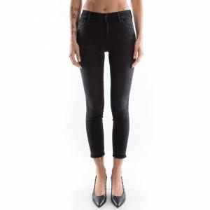 Cycle jeans nero vita alta donna