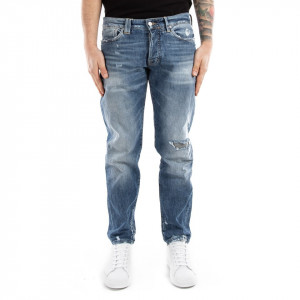 Cycle pantaloni uomo denim con rotture
