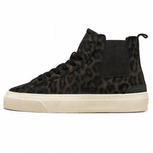 Date sneakers alte sonica leopard