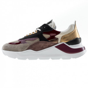 Date sneakers running donna fuga bordeaux