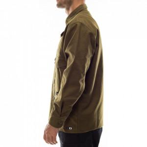 Edwin-camicia-verde-multitasche