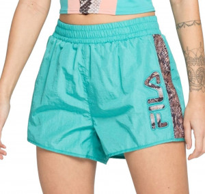 Fila blue short with reptile inserts