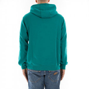 Fila felpa con cappuccio verde