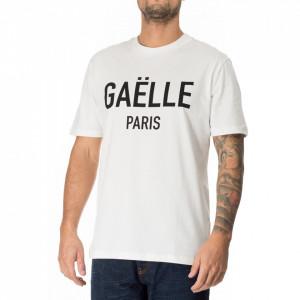 Gaelle t-shirt uomo bianca logo