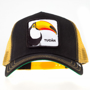 Goorin bros cappello trucker tucano nero