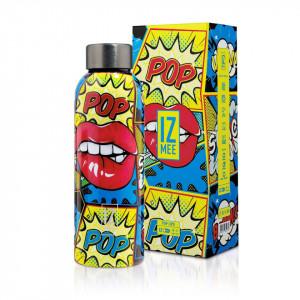 IZmee Pop Lips steel thermal bottle