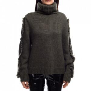 Jijil maglione in lana morbida donna