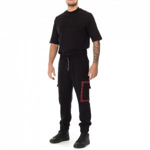 John Richmond pantalone tuta nero