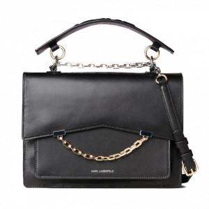 Karl Lagerfeld black shoulder bag