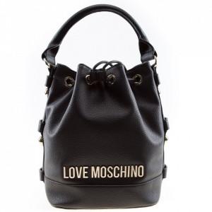 Love Moschino black bucket bag
