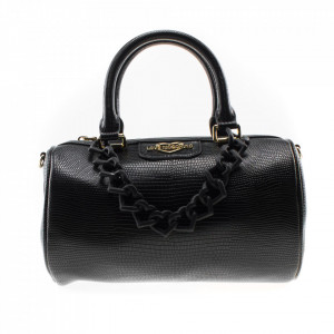 Love Moschino borsa bauletto nera