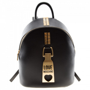 Love Moschino zainetto nero zip