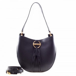 Moschino Love borsa shopper a spalla nera