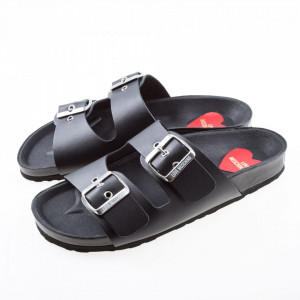 moschino-sandali-con-fibbie-neri