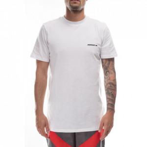 Numero 00 t-shirt over bianca