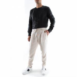 pantalone-bianco-lino-uomo