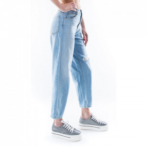 Pinko mom fit jeans in light wash
