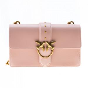Pinko pink shoulder bag