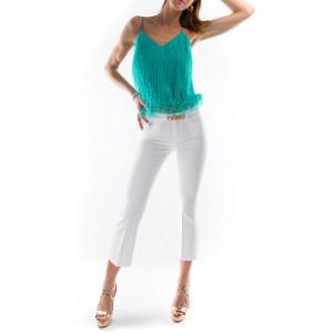 Pinko white flared jeans