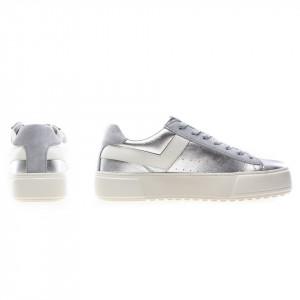 Pony sneakers argento donna