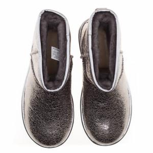 ugg-mini-boots-silver