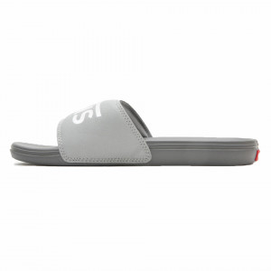 Vans gray beach slipper