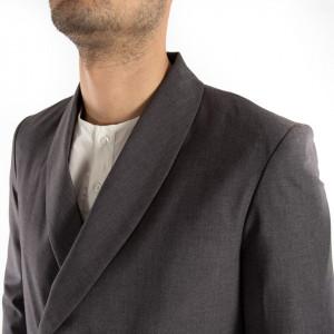 Choice giacca doppiopetto uomo grigia