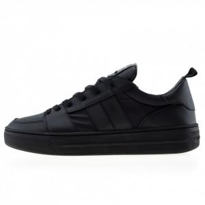 Crime London sneakers basse total black