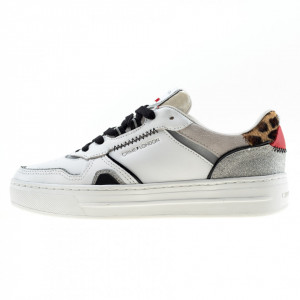 Crime London sneakers off court bianche