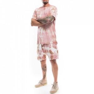 Danilo Paura short tie-dye pink