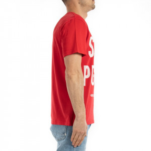 Eleven Paris t-shirt rossa uomo