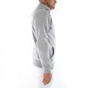 Hype felpa grigia con cappuccio