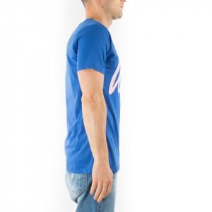 Hype tshirt girocollo blu con logo
